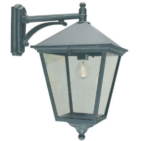 Elstead Turin Grande Large Outdoor Wall Light Lantern Verdigris