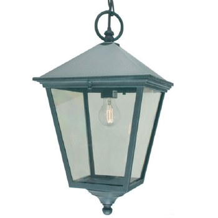 Elstead Turin Grande Chain Lantern Light Verdigris