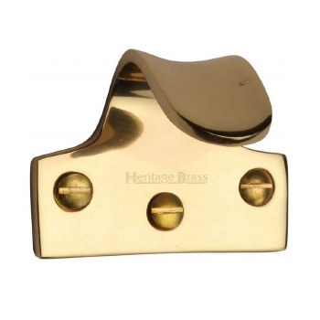 Heritage Sash Lift V1110 Polished Brass
