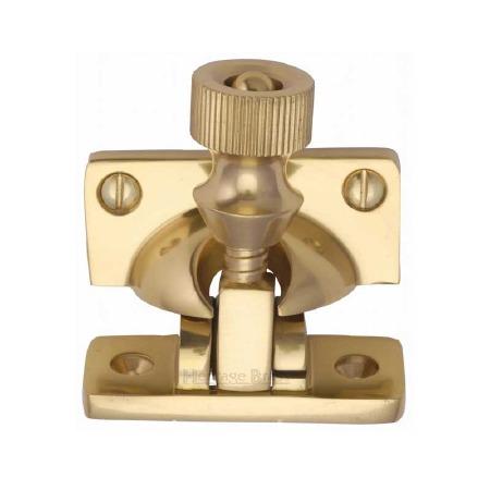 Heritage Sash Fastener V2055 Polished Brass