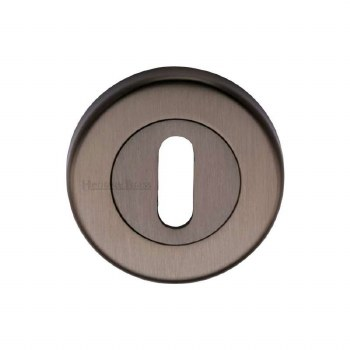 Heritage V4000 Escutcheon Matt Bronze Lacquered