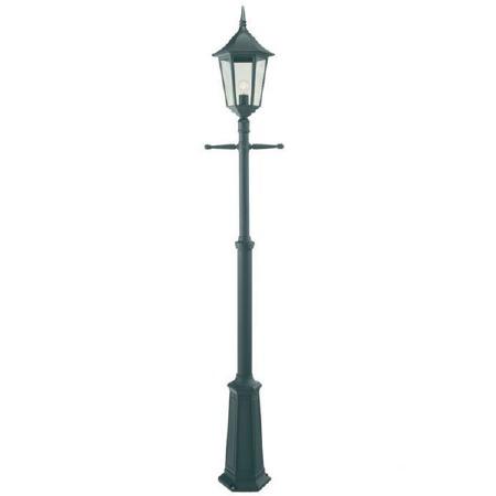 Elstead Valencia Grande Lamp Post Black