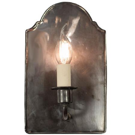 Vestry Wall Light, Antique Brass