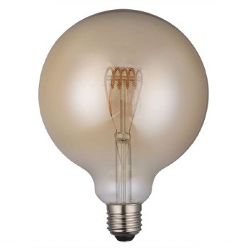 LED ES Vintage Large Globe Bulb 4W Dimmable