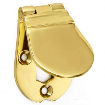 Croft Waterloo Escutcheon 4570 Polished Brass Unlacquered