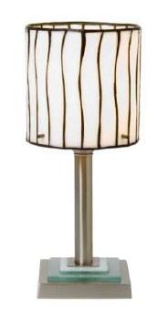 Wavy Fused Tiffany Table Lamp
