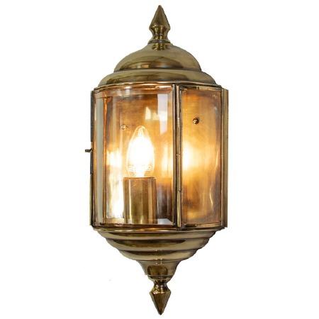 Wentworth Passage Lantern Renovated Brass