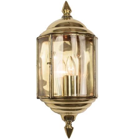 Wentworth Passage Lantern Polished Brass