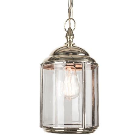 Wentworth Pendant Hanging Lantern Nickel