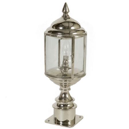 Wentworth Short Pillar Lantern Nickel