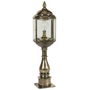 Wentworth Tall Pillar Lantern Light Antique