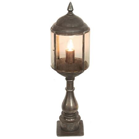 Wentworth Tall Pillar Lantern Antique