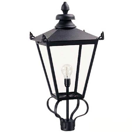 Elstead Wilmslow Lamp Post Head Black