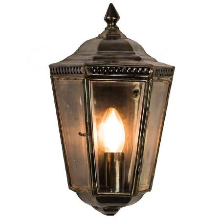 Windsor Outdoor Passage Lantern Antique Brass