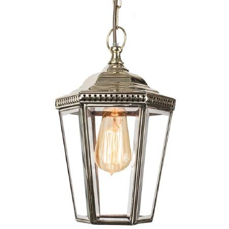 Windsor Hanging Pendant Lantern Nickel