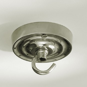 Ceiling Hook Small Polished Nickel