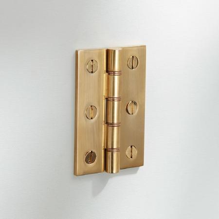 "3"" Butt Hinge Polished Brass"