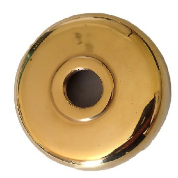 Round Dome Only Polished Brass