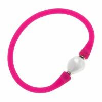 Bracelet Baroque Pearl Fuchsia