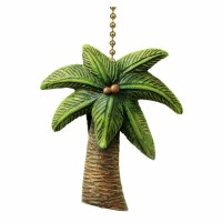 Fan Pull Tropical Palm Tree