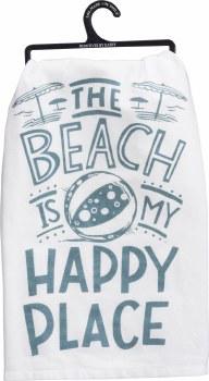 Dish Towel Happy Place