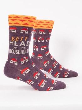 Men's Sock Butthead Household