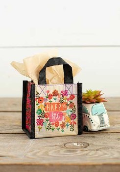 Gift Bag Watercolor Flowers