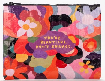 Zipper Pouch Youre Beautiful