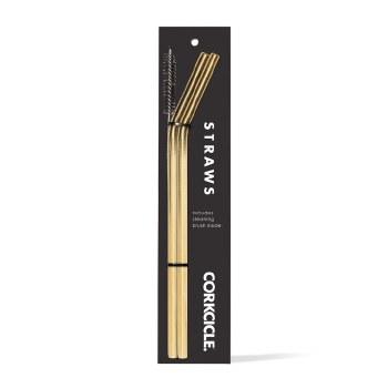 Tumbler Straw Gold