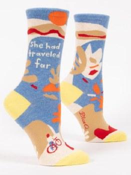 Socks She Had Traveled Far