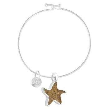 Bangle Beach Starfish Lapis