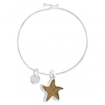 Bangle Beach Starfish Turq