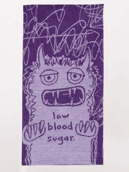Dish Towel Low Blood Sugar