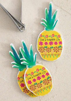 Emery Board Pineapple S/3