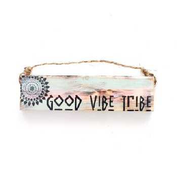 Sign Good Vibe Tribe 3 X 12