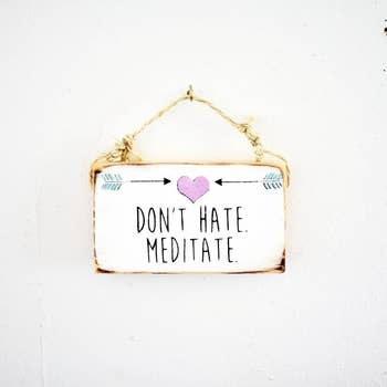 Sign Meditation 3 X 6