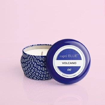 Volcano Blue  Mini Tin 4oz