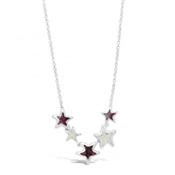 Necklace Cinco Starfish NSB/FL