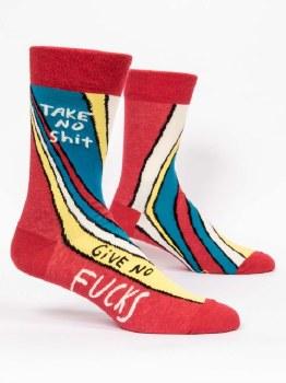 Men Socks Take No Shit