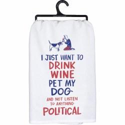 Dish Towel Pet My Dog