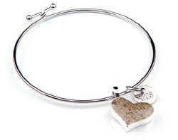 Bangle Beach Heart Flagler