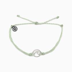 Brace Silver Wave Minty Green