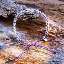 Bracelet Monk Seal Purple