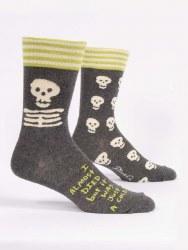 Men's Sock I Almost Died