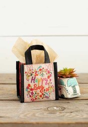Gift Bag Multi Floral Wreath