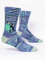 Men's Sock Fuck Off Im Gaming