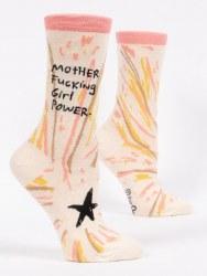 Socks MotherFuckingGirlPower
