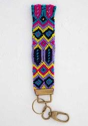 Key Fob Purple Sayulita