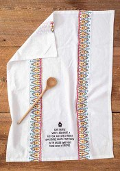 Flour Sack Towel Cabin In The