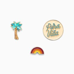 Pin Set 3 Pack Pura Vida